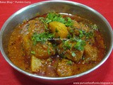 Bakar Bhaji ~ Spicy Pumkin Curry