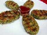 Broccoli And Cheese Cutlets