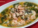 Prawns in Butter Garlic Sauce (Butter Garlic Prawns)