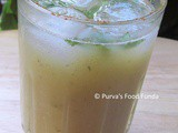 Smoky or Roasted Raw Mango Panha ~ Aam Panna