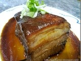 Dongpo Ro (Red Cooked Pork Belly)