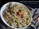 BellPepper Wasabi Fried Rice