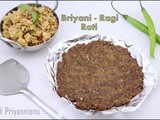 Biryani - Ragi flour Roti / Diet Friendly Recipe - 70 / #100dietrecipes