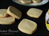 Butter Biscuit ( Without Baking Powder / Baking Soda )
