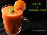 Carrot & Tomato Juice / Diet Friendly Recipes - 10 / #100dietrecipes