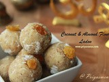 Coconut and Almond flour Ladoo