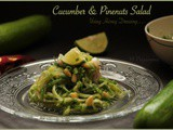 Cucumber & Pine nuts Salad