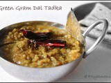 Green Gram Dal Tadka / Diet Friendly Recipe - 91 / #100dietrecipes