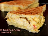 Grilled Chicken & Apple Sandwich