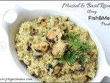 Mussel & Basil Risotto Using FishandMeat Product