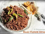 Ragi Flour Upma ( Dry ) / Diet Friendly Recipes - 12 / #100dietrecipes