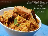SailFish Biryani / Olameen Biryani using Pressure Cooker Method / Product Review on  FishandMeat  - 2