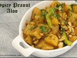 Spicy Peanut Aloo