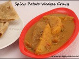Spicy Potato Wedges Curry