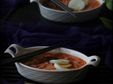 Tangy Lemongrass Noodles Soup / Soup Series