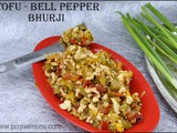 Tofu & Bell pepper Bhurji / Diet Friendly Recipe - 73 / #100dietrecipes