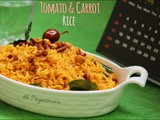 Tomato & Carrot Rice / Lunchbox Special