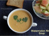 Watermelon Rind Soup