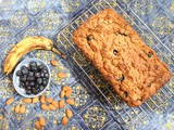 Almond Blueberry Banana Bread #BreadBakers