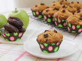 Apple and Date Muffins #MuffinMonday