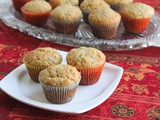 Banana Mini Muffins #MuffinMonday