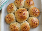 Blossom Tea Honey Buns #BreadBakers