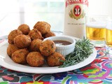 Bolinhos de Bacalhau or Deep-fried Cod Fritters #FishFridayFoodies