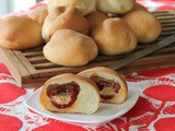 Cheese Stuffed Peppadew Stuffed Buns #BreadBakers
