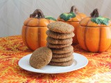 Cinnamon Pumpkin Cookies #CreativeCookieExchange
