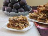 Easy Fig Pecan Bars #CreativeCookieExchange