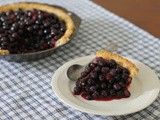 Elle's Fresh Blueberry Pie #FridayPieDay