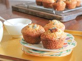 Fig and Stilton Muffins #MuffinMonday