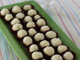 Gin Lime Coconut Truffles #GalentinesDay