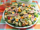 Grilled Tuna Niçoise Salad #FishFridayFoodies