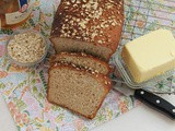 Honey Oatmeal Bread #BreadBakers