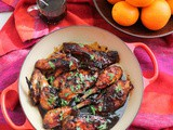 Marmalade-Glazed Baked Chicken #FoodBloggers4FL