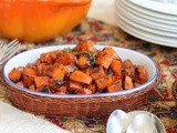 Marmalade Glazed Sweet Potatoes