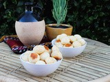 Pão de Queijo - Brazilian Cheese Bread #BreadBakers