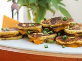 Potato Cake Grilled Cheese Nibbles #FoodieExtravaganza