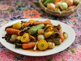 Roasted Spring Vegetables #SundaySupper