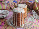 Russian Kulich - Easter Bread #BreadBakers
