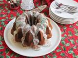 Sour Cream Vanilla Bundt #BundtBakers