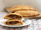 Spicy Beef Curry Calzones #BakingBloggers