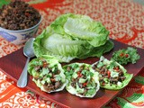 Spicy Beef Lettuce Cups