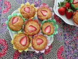 Strawberry Yogurt Muffins #MuffinMonday