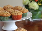 Yiaourti Me Meli (Greek Yogurt and Honey) Muffins #MuffinMonday