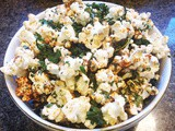 Bbq Seasoned Popcorn With Kale chips