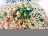 Couscous with Sun-Dried Tomato and Parsley