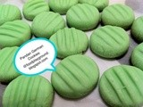 Melt in your mouth Pandan German Cookies