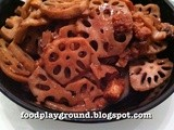 Red fermented beancurd Lotus Root
